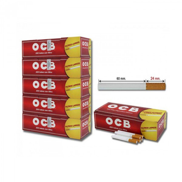 OCB tubes 200 long 1