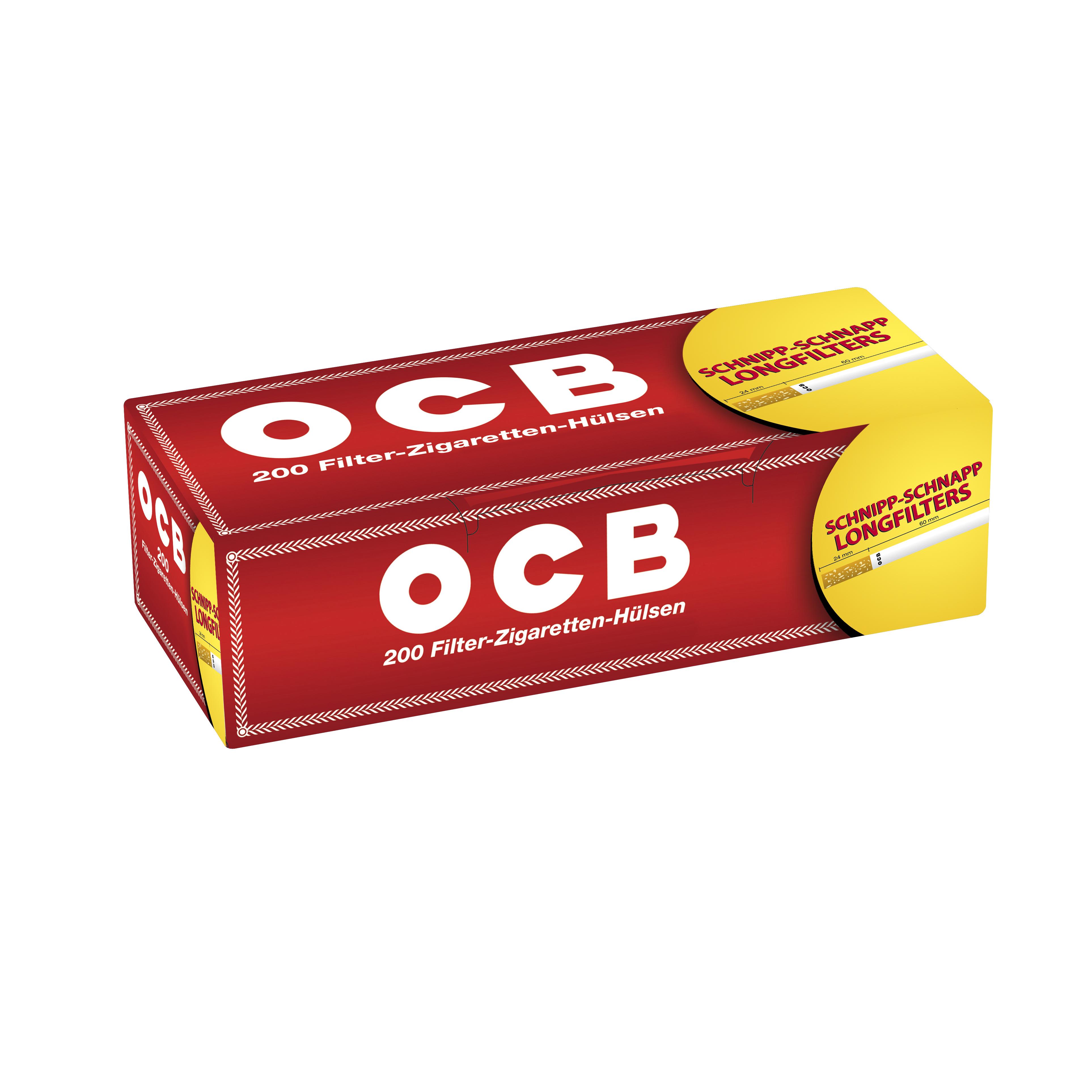 OCB tubes 200 long 2